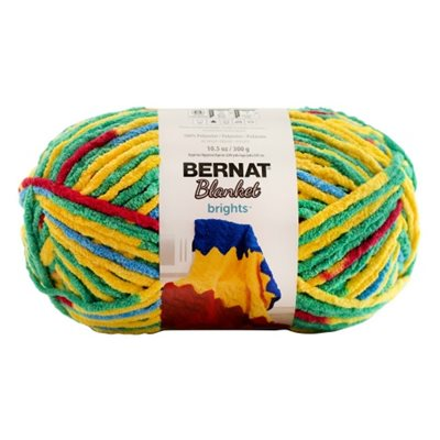 "BERNAT Blanket Brights ""Rainbow Shine Varg"" #12016 - 300 g"