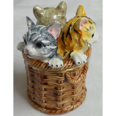 "Trinket Box ""Cats"" Original & Exclusive"