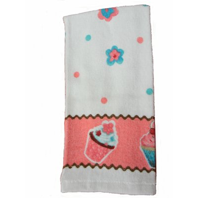"""Cupcakes"" Kitchen Towel"