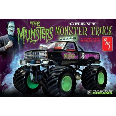"AMT-863 Modèle réduit à coller "" The Munsters Chevy Monster Truck """