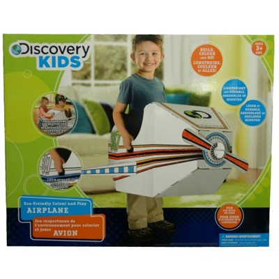 DISCOVERY KIDS  Avion en carton
