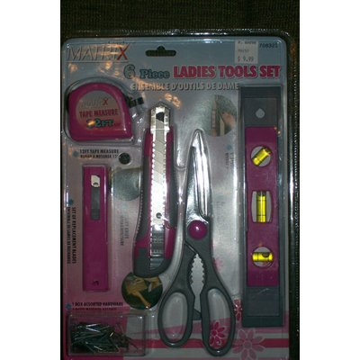 Ladies tools set