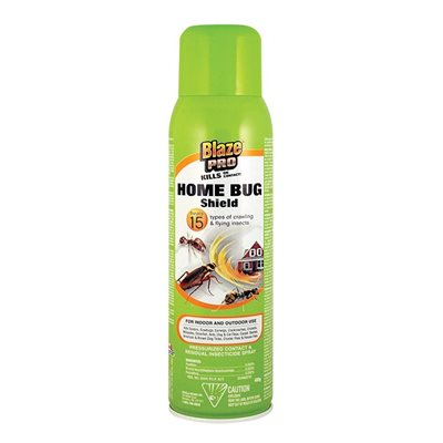 99906 INSECTICIDE SPRAY HOME BUG SHIELD 400 G