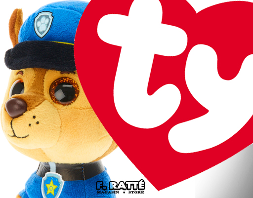 F. Ratte nouveau, Peluches TY, Paw Patrol, Beanie Babies, Beanie Boos