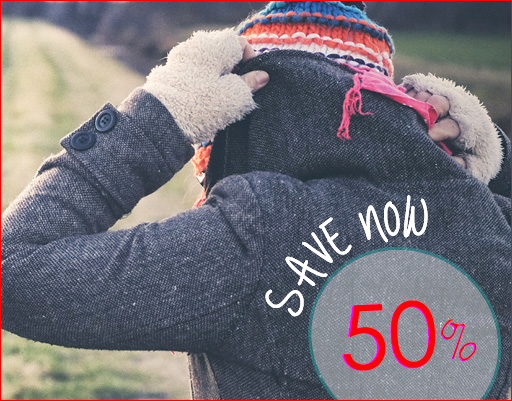 Big savings on clothing, Fall-winter coats, gloves, mittens and more